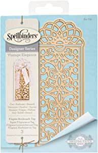 Spellbinders Filigree Bookmark-Tag Etched/Wafer Thin Dies
