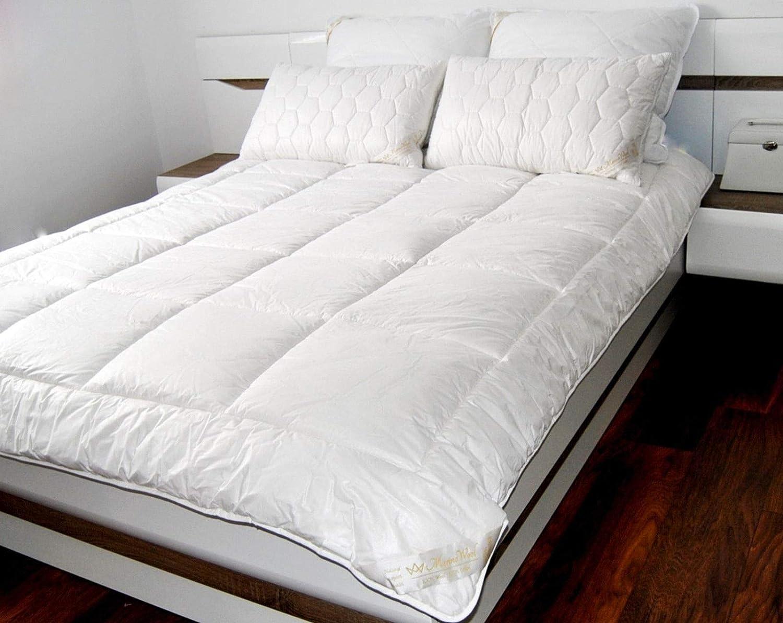 100/% Merino Wool Duvet Double Size Quilt 200x200 cm 500gsm white
