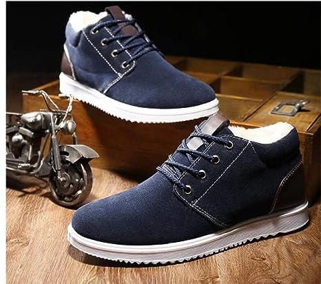 boots Inverno Scarpe da Uomo Calde e Vellutate 51880ee9441