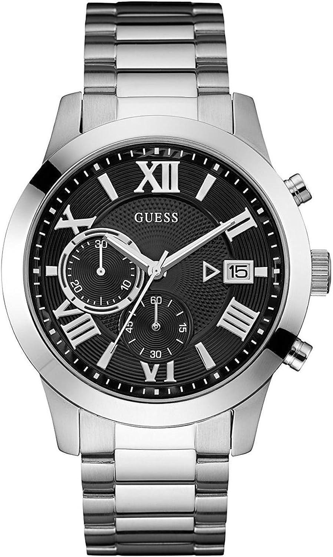 Reloj Guess W0668G3 Hombre Negro Acero Cronógrafo,