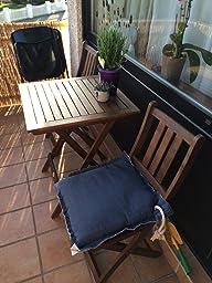 balkonset terassen set bistroset balkonm bel 2x. Black Bedroom Furniture Sets. Home Design Ideas