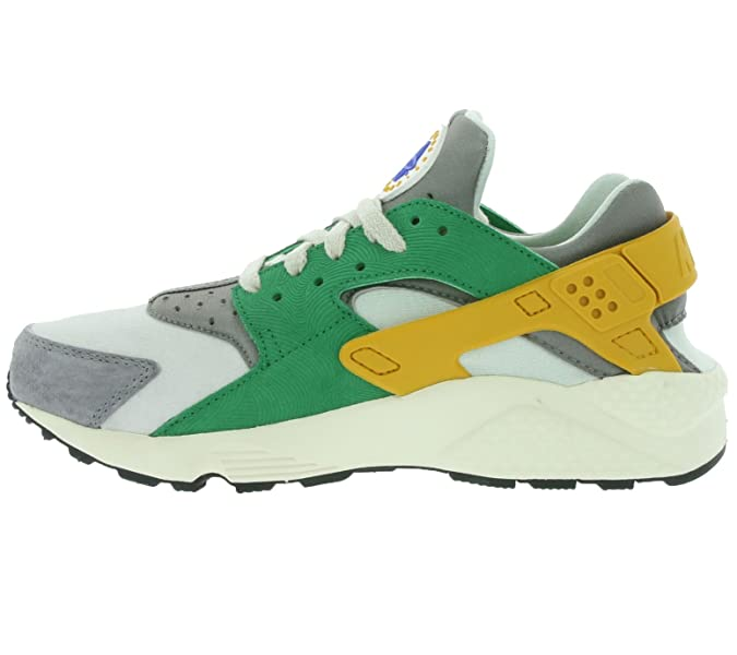 new product e4872 e5c2b Amazon.com   Nike Men s Air Huarache Run SE, PINE GREEN GOLD LEAF-LIGHT  BONE, 10 M US   Road Running