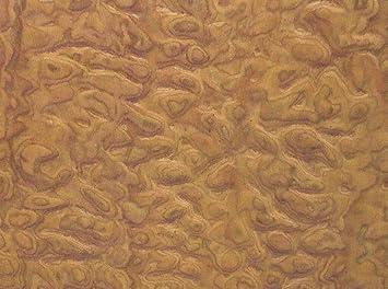 "Sapele Pommele Figured Quilted composite wood veneer 24/"" x 48/"" on paper 1//40/"""