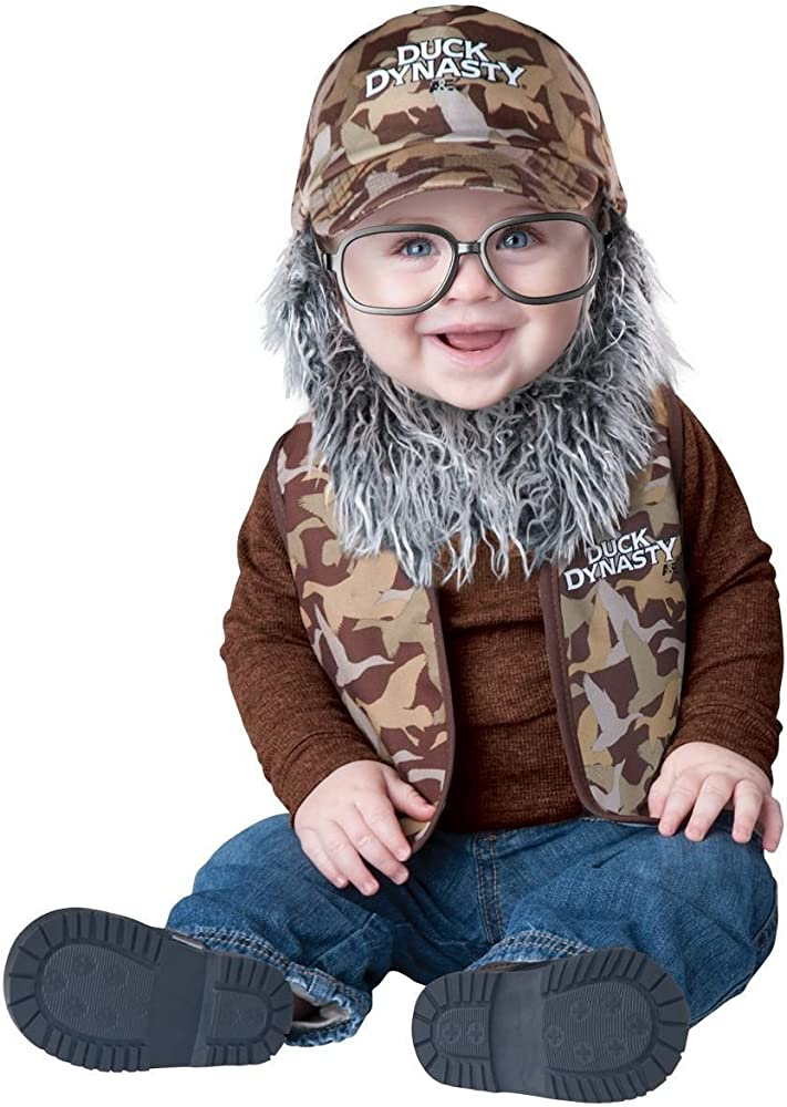 Duck Dynasty Uncle Si Child Costume