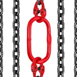 "Mophorn 6FT Chain Sling 5/16"" x 6' Double Leg with"