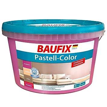 Baufix Innenfarbe Wandfarbe Dispersions Innenfarbe Matt Lila Violett 5 Liter
