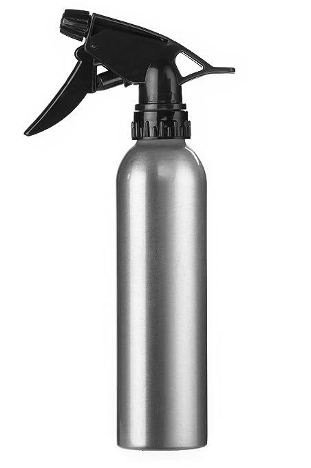 Eurostil Aerosol de agua de la botella de aluminio de 280 ml pulverizador atomizador peluquería