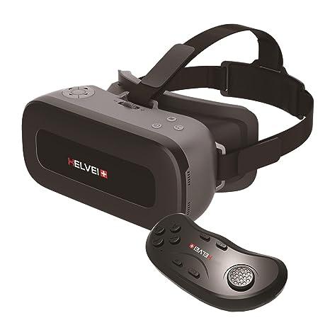 Helvei VR ALL IN ONE Visore 2K per Realtà Virtuale con Controller Bluetooth  - Nero  35eda925283c