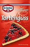 Dr. Oetker Tortenguss Rot (Red Cake Glaze )- 3 pack