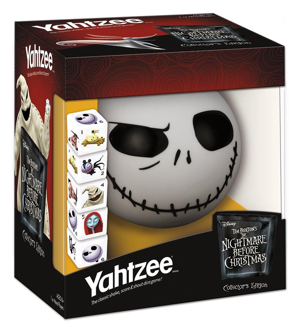 Yahtzee Tim Burton S The Nightmare Before Christmas Collector S Edition Jack Ebay