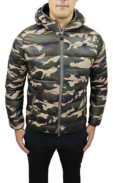 Chaleco Plumón Hombre Verde Militar Camuflaje Invierno Bomber Chaqueta Slim Fit Ajustada Camuflaje Talla S M L XL XXL 3 X L Verde Militar Medium: Amazon.es: ...