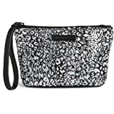 Gorgeous Vera Bradley Mesh Sequin Wristlet/Wallet in Camocat Black