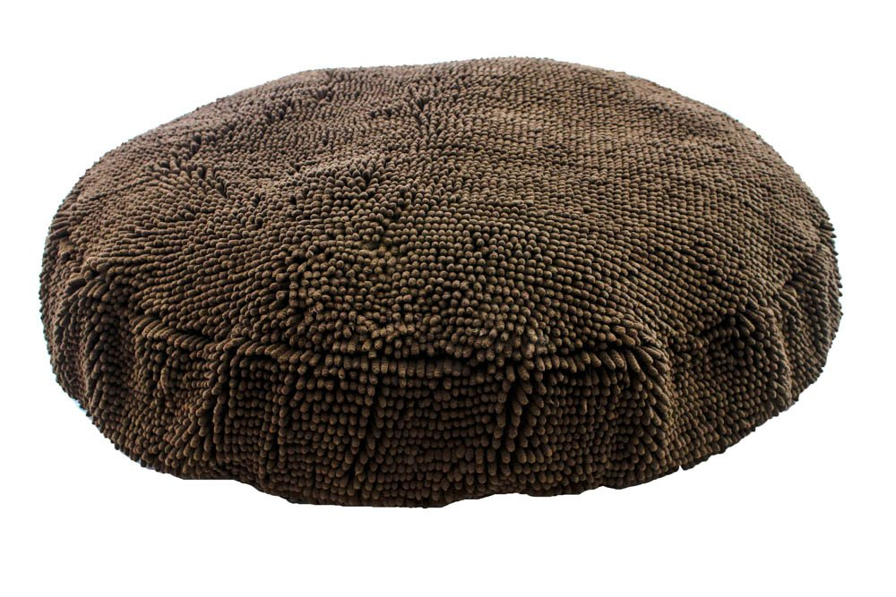 Soggy Doggy 36-Inch Super Snoozer Bed, Large, Dark Chocolate