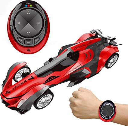 Amazon Com Fun Little Toys Remote Control Car High Speed Racing Car With Usb Charger Multi Function Led Light Smart Watch Voice Command Remote Control Car Toys Games