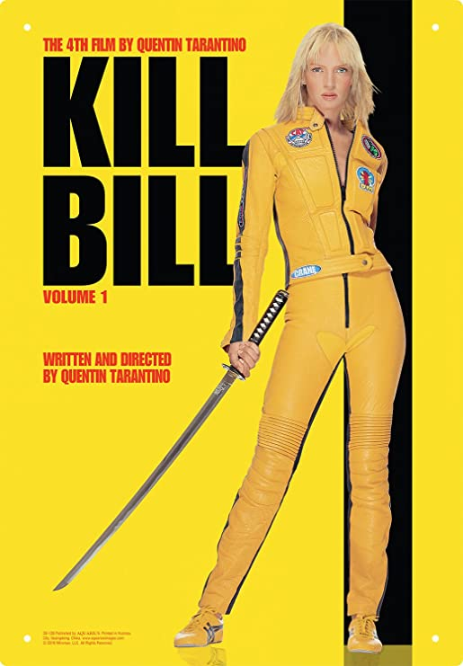 Aquarius Kill Bill una hoja placa de metal: Amazon.es: Juguetes y ...
