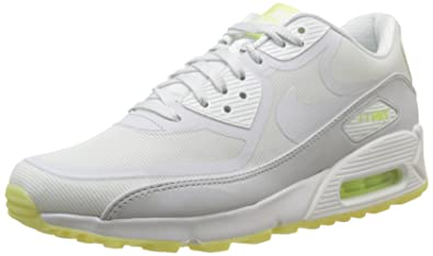 huge selection of dcd17 1100f Nike Air Max 90 Premium Tape Glow in the dark white grey mint trainers  616317 103  UK