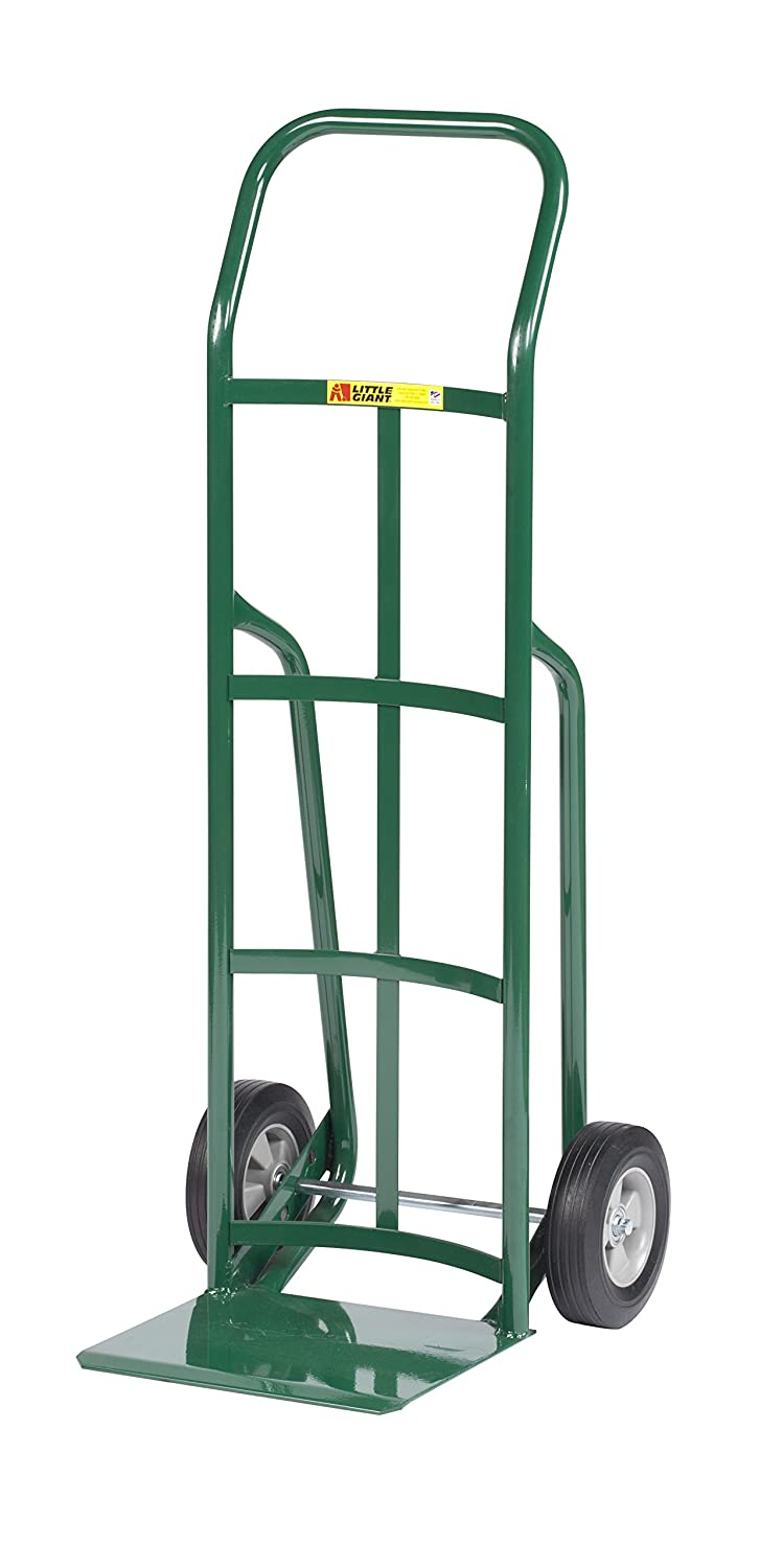 800 lb Capacity Green Little Giant T-360-8S Shovel Nose Hand Truck with Continuous Handle