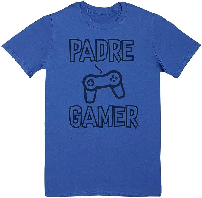 Zarlivia Clothing Padre Gamer - Regalo para Padres - Regalo para papá - Camiseta de Hombre - Camiseta de Padre: Amazon.es: Ropa y accesorios