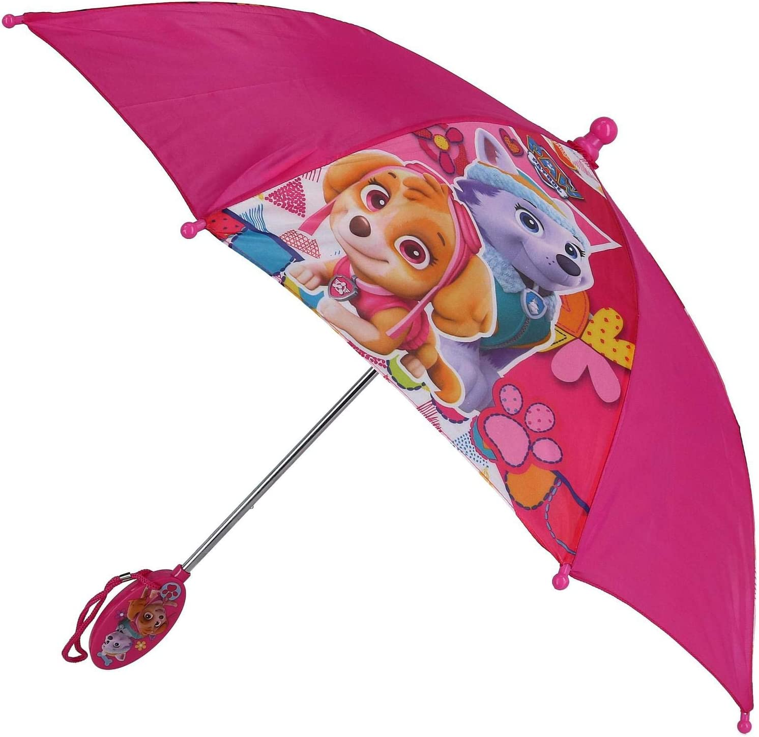 Paw Patrol Kids Umbrella with Clamshell Handle