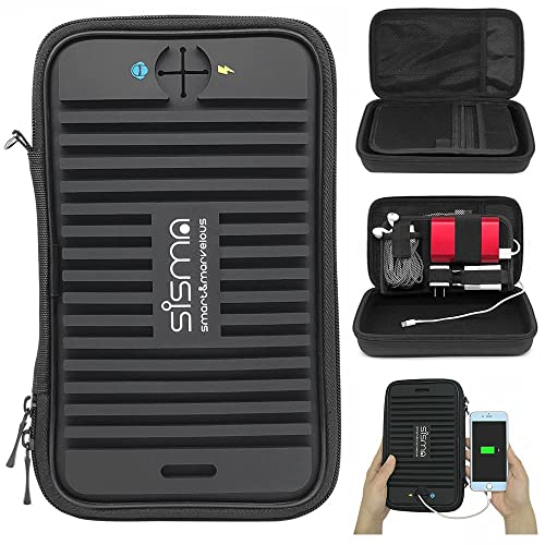 Sisma Travel Cords Organizer Small Electronics
