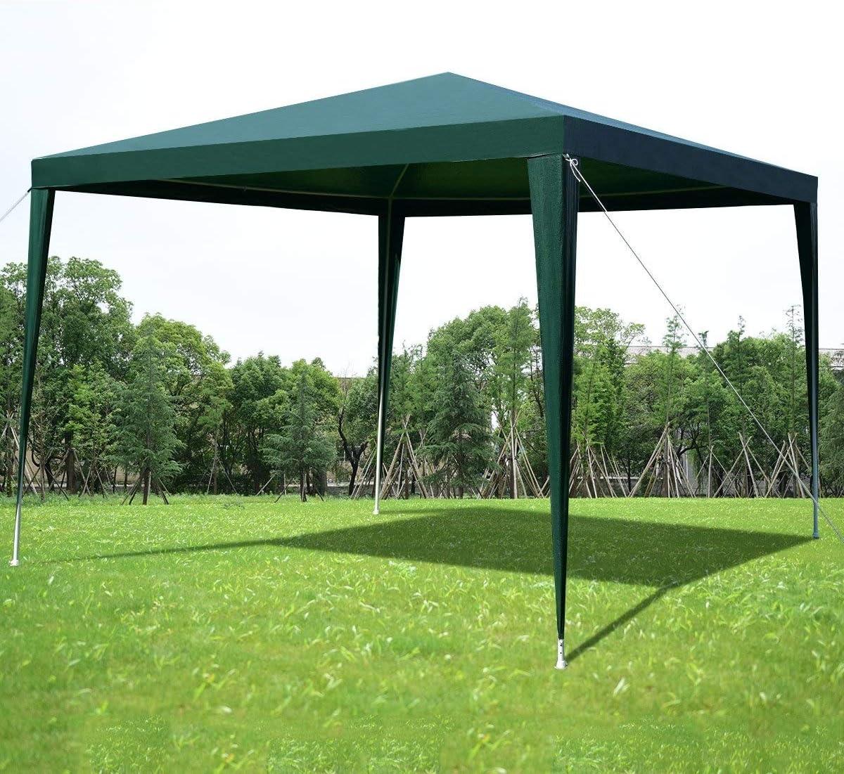 DSRC Tienda al Aire Libre 3X3M Jardín al Aire Libre Gazebo Canopy ...