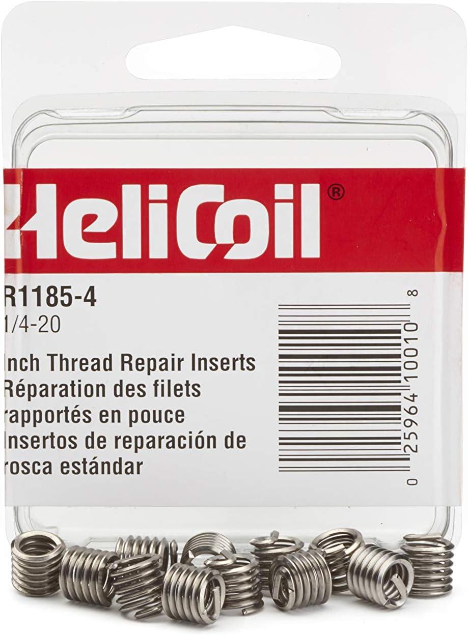 Helical Insert,304SS,1//4-20,PK12 HELI-COIL R1185-4