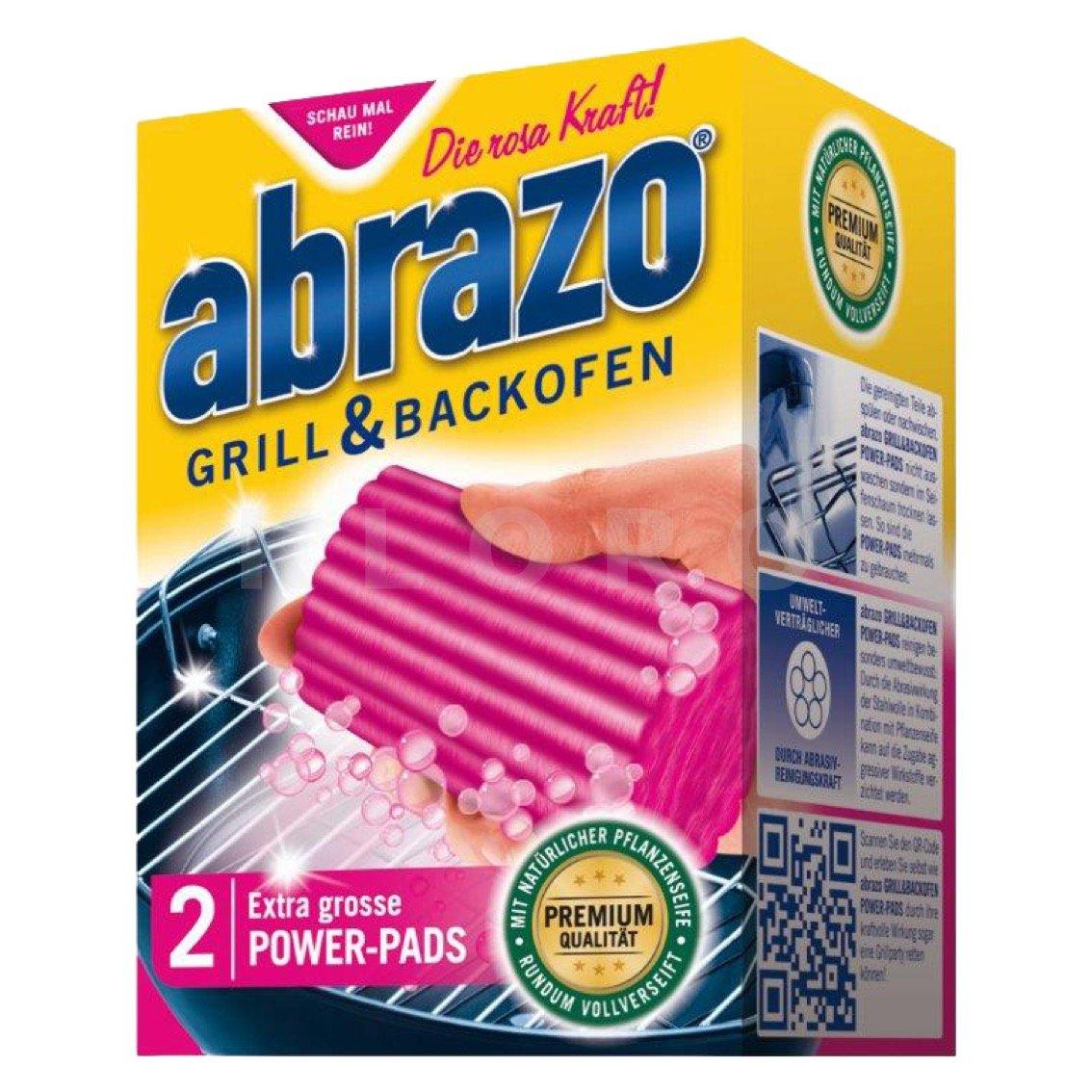 abrazo Grill und Backofenreiniger 2-er Pack