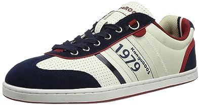 Joel 7441A Unisex-Erwachsene Sneaker, Weiß (off white/dk navy/k red 047), EU 41 Kangaroos