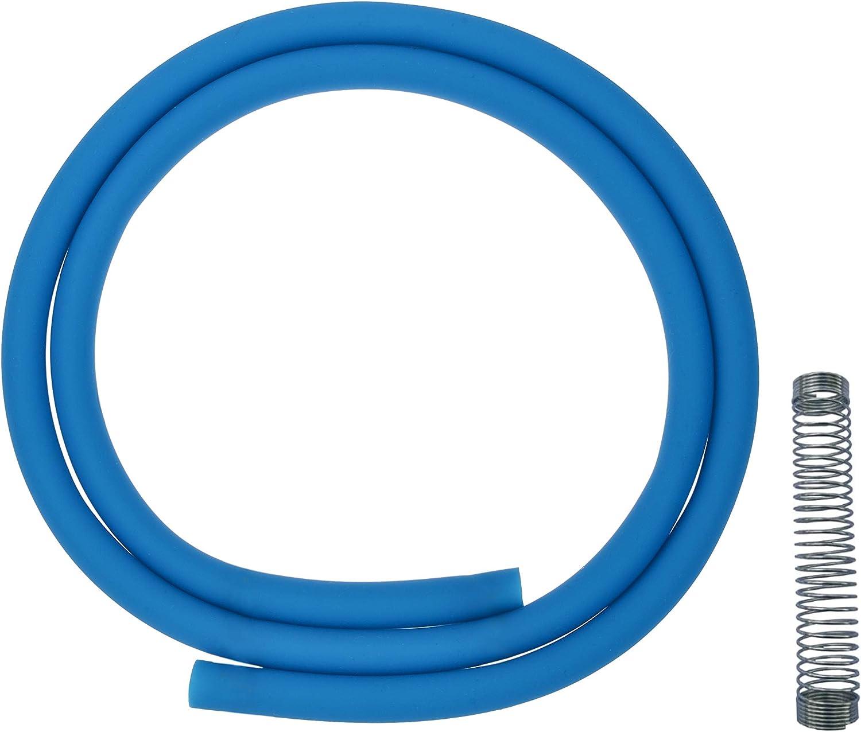 ADMY® La manguera de silicona Shisha se puede usar con todas las mangueras disponibles comercialmente 1.50m de largo (verde)