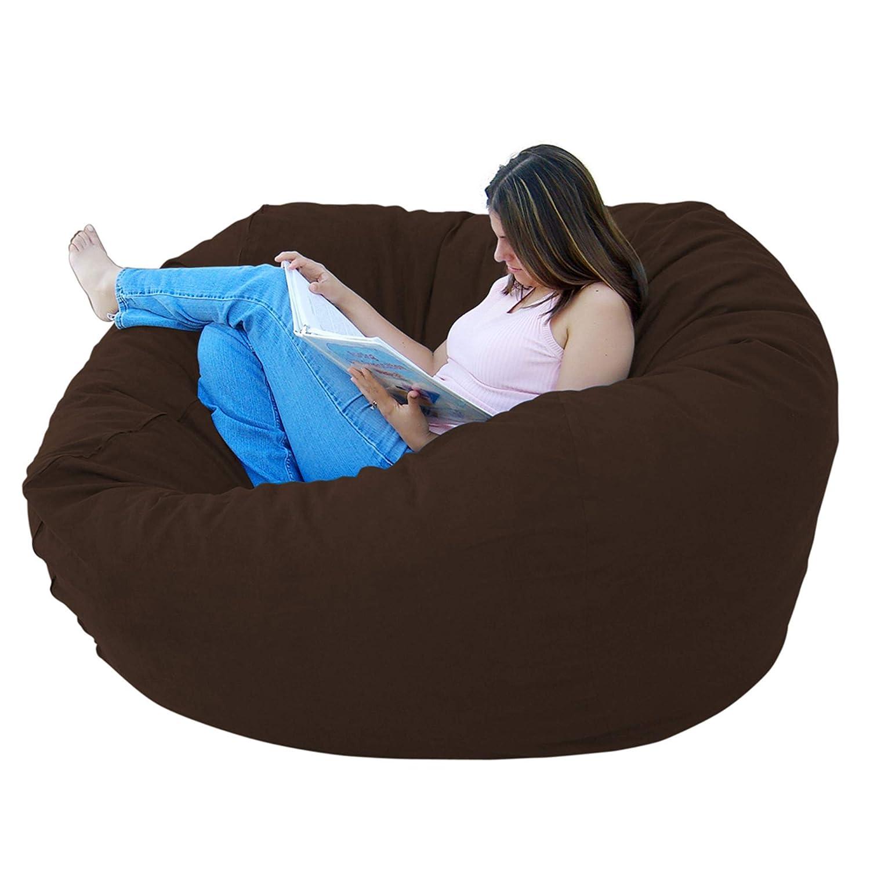 Amazon.com: Cozy Sack Puf grande de 5 pies, Microfibra ...