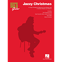 Jazzy Christmas (Beginning Solo Guitar) book cover