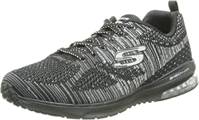 Skechers Skech Air Infinity Stand out Black Womens Trainers