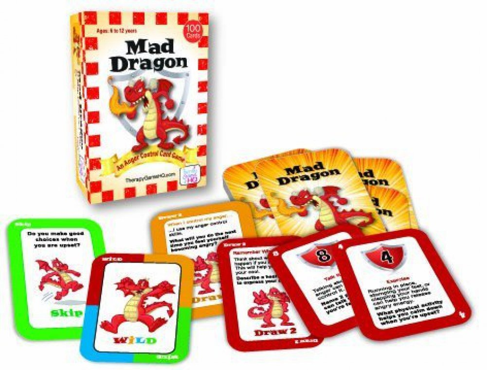 Mad Dragon: An Anger Control Card Game 2