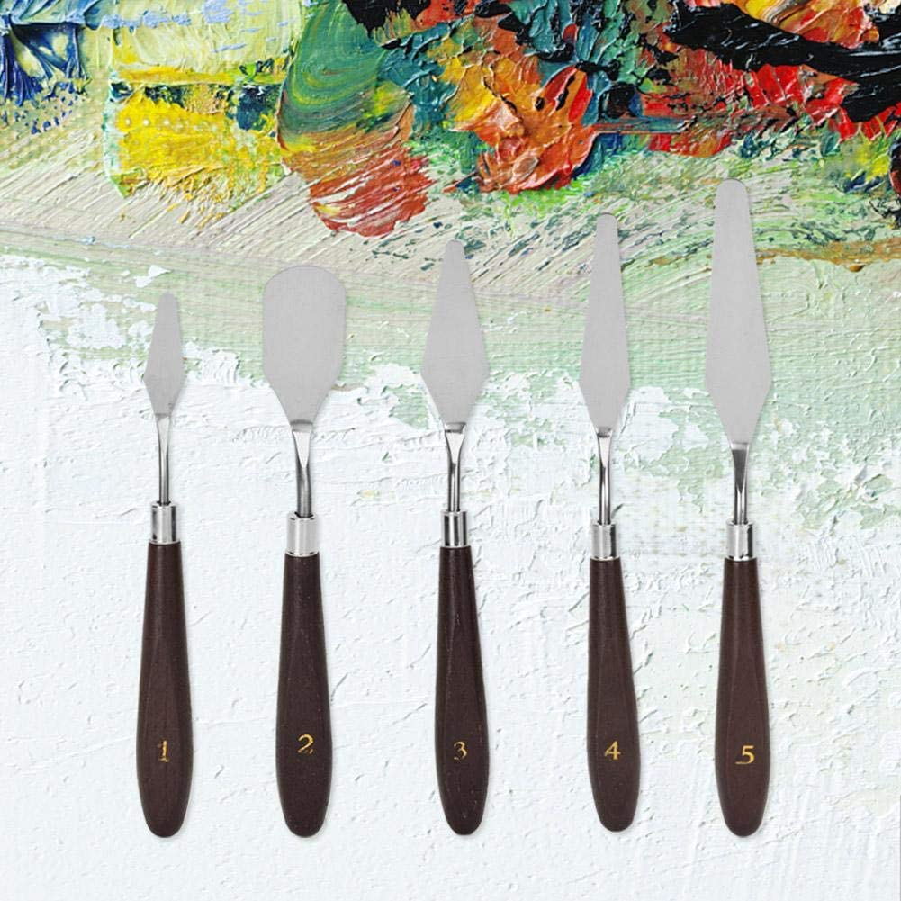 Easy to Carry Exquisite Workmanship Oil Painting Knife Knife No Sharpened Edge Long-Term Using Home Craft Projects for School Painting Office