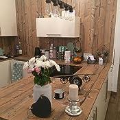 lixada vintage retro pendelleuchte wasserrohr geformt e27 h ngelampe mit 5 fass. Black Bedroom Furniture Sets. Home Design Ideas