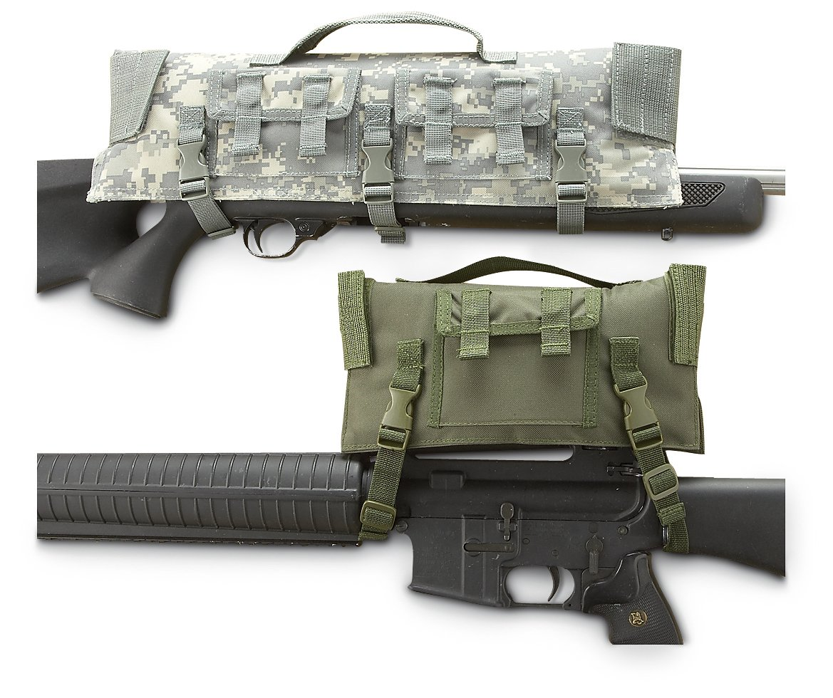 Black Tactical Scope Protector (Army, Military, Police, & Security Type) Outdoor Shopping 55681