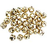 Metal Jingle Bells for Christmas Decoration Jewellery Making Craft 10mm Pack of Approx.100pcs