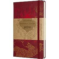 Moleskine Carnet, Large, Edizione Limitata Harry Potter, Rosso