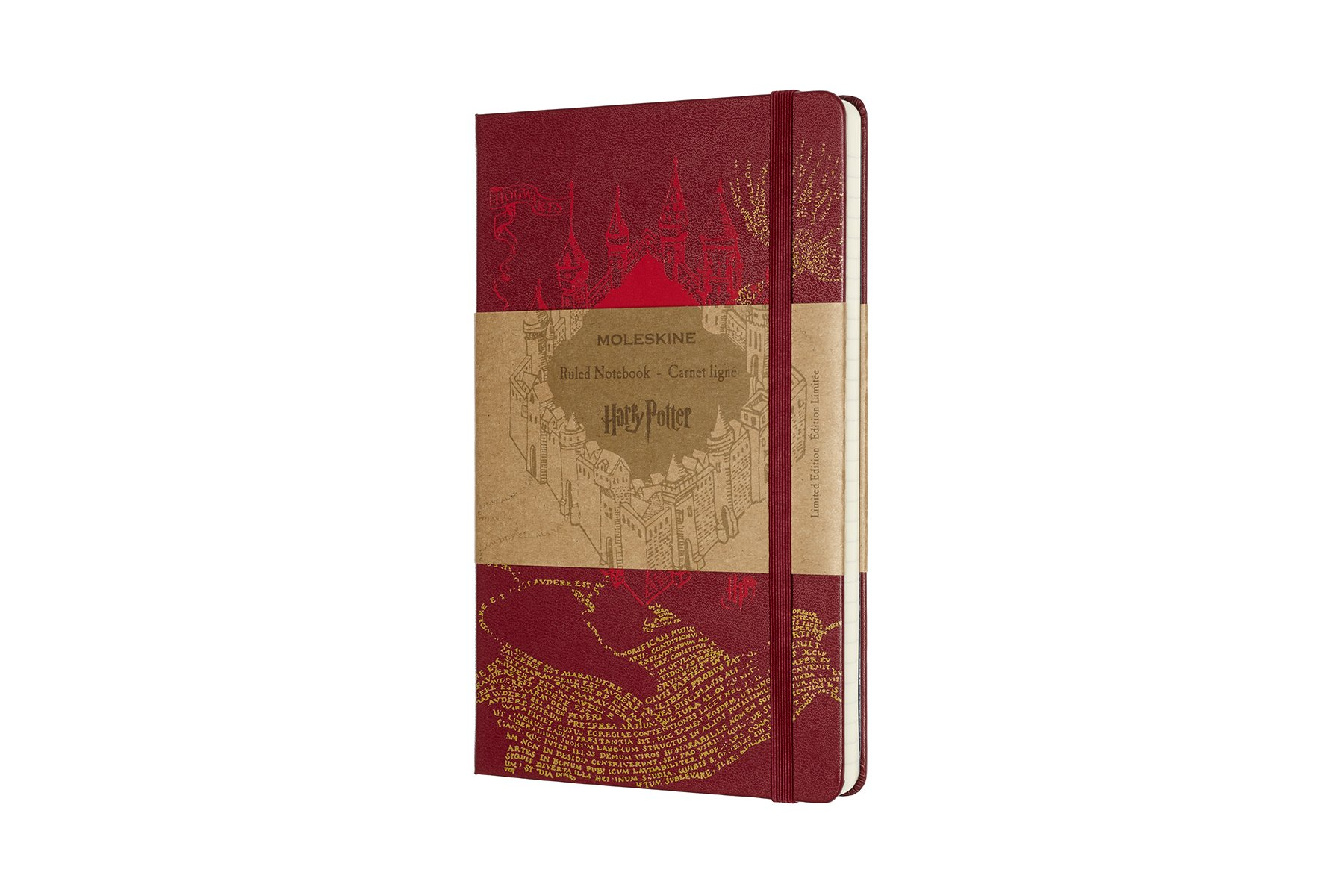 Moleskine Limited Edition Harry Potter Hard Cover Notebook,.
