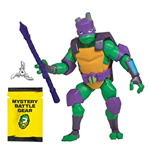 Rise of the Teenage Mutant Ninja Turtles Battle Shell Donatello Action Figure