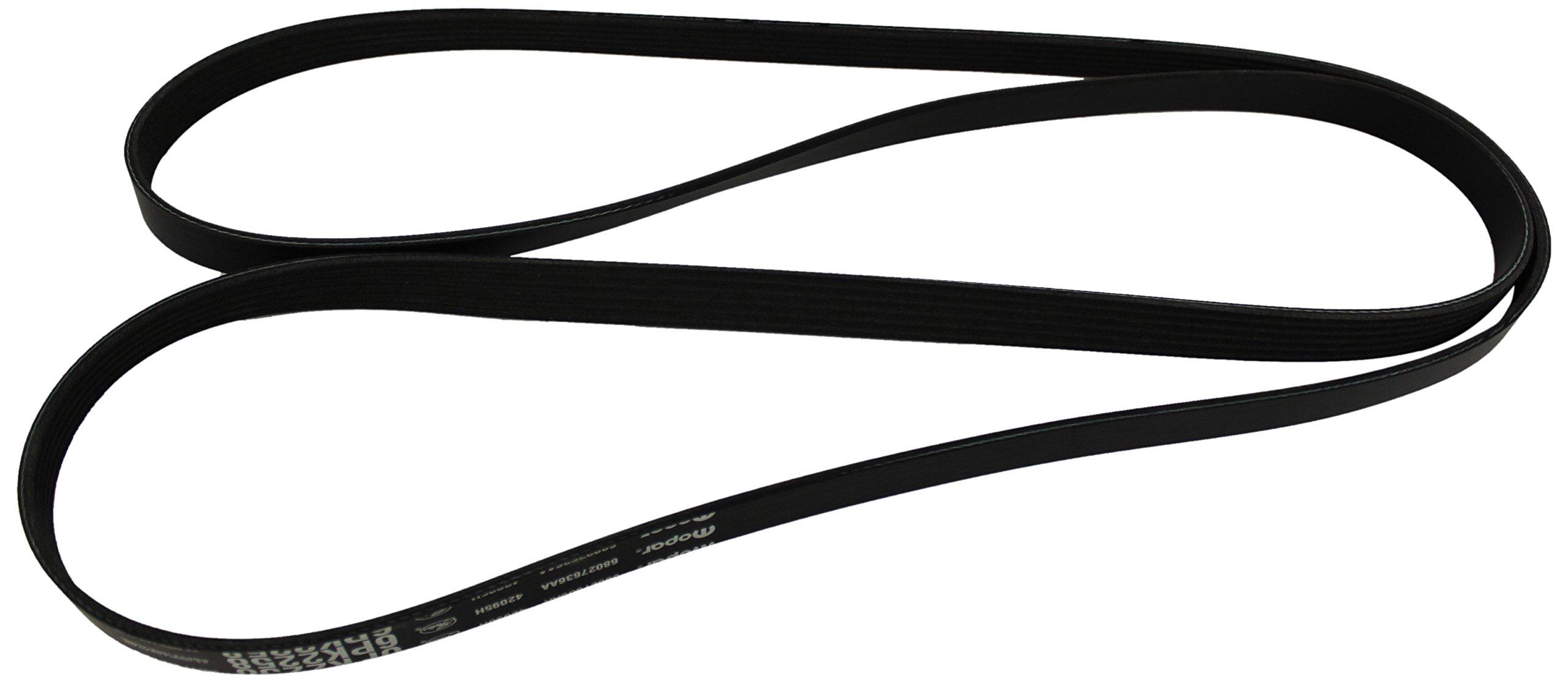Genuine Chrysler 68027636AA Serpentine Belt by Chrysler
