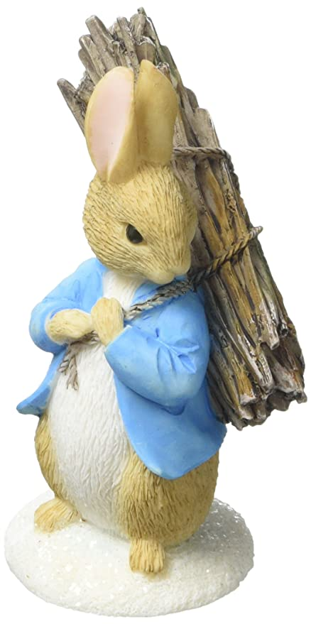 Beatrix Potter - Figura decorativa, diseño de conejo ...
