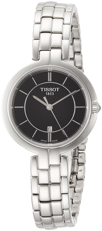 [ティソ] TISSOT 腕時計 フラミンゴ クォーツ ブラック文字盤 ブレスレット T0942101105100 レディース 【正規輸入品】 B078844ST1