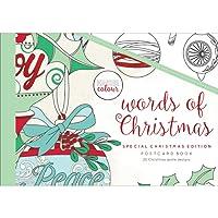 Kaisercraft Words of Christmas Colour Postcard Book (20/Pack)