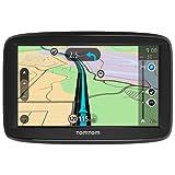 """TomTom Start 52 - Navegador GPS (5"""" pantalla táctil, flash, batería, encendedor de cigarrillos, interno, MicroSD/TransFlash), (versión europea España, Italia)"""
