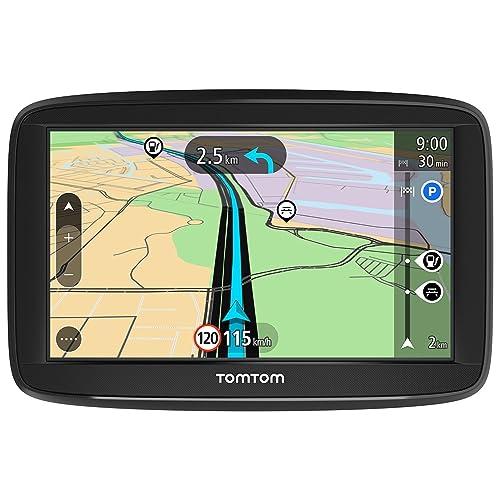 """TomTom Start 52 Europa 45 GPS per Auto, Display da 5"""", Mappe a Vita, Indicatore di Corsia Avanzato, 3 Mesi Tutor&Autovelox, Aggiornamenti Software Gratuiti, Nero/Antracite"""