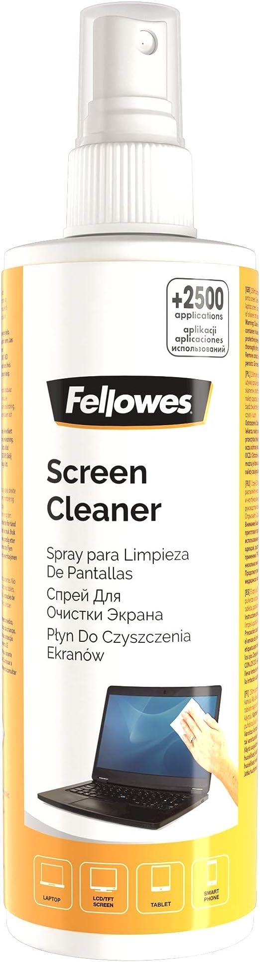 Fellowes 99718 - Spray limpiador pantallas ordenador, portátiles y escáner