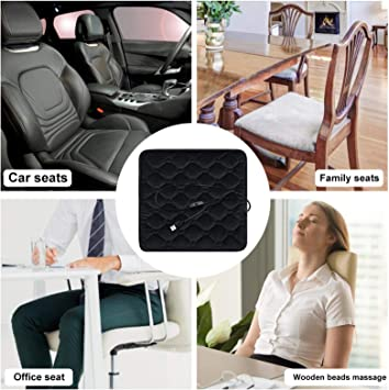 cuffslee Auto Sitzheizung Heizkissen Winter B/üro Zu Hause Sitzheizung Heizkissen Sicherheit 5V USB-Schnittstelle 30-65℃