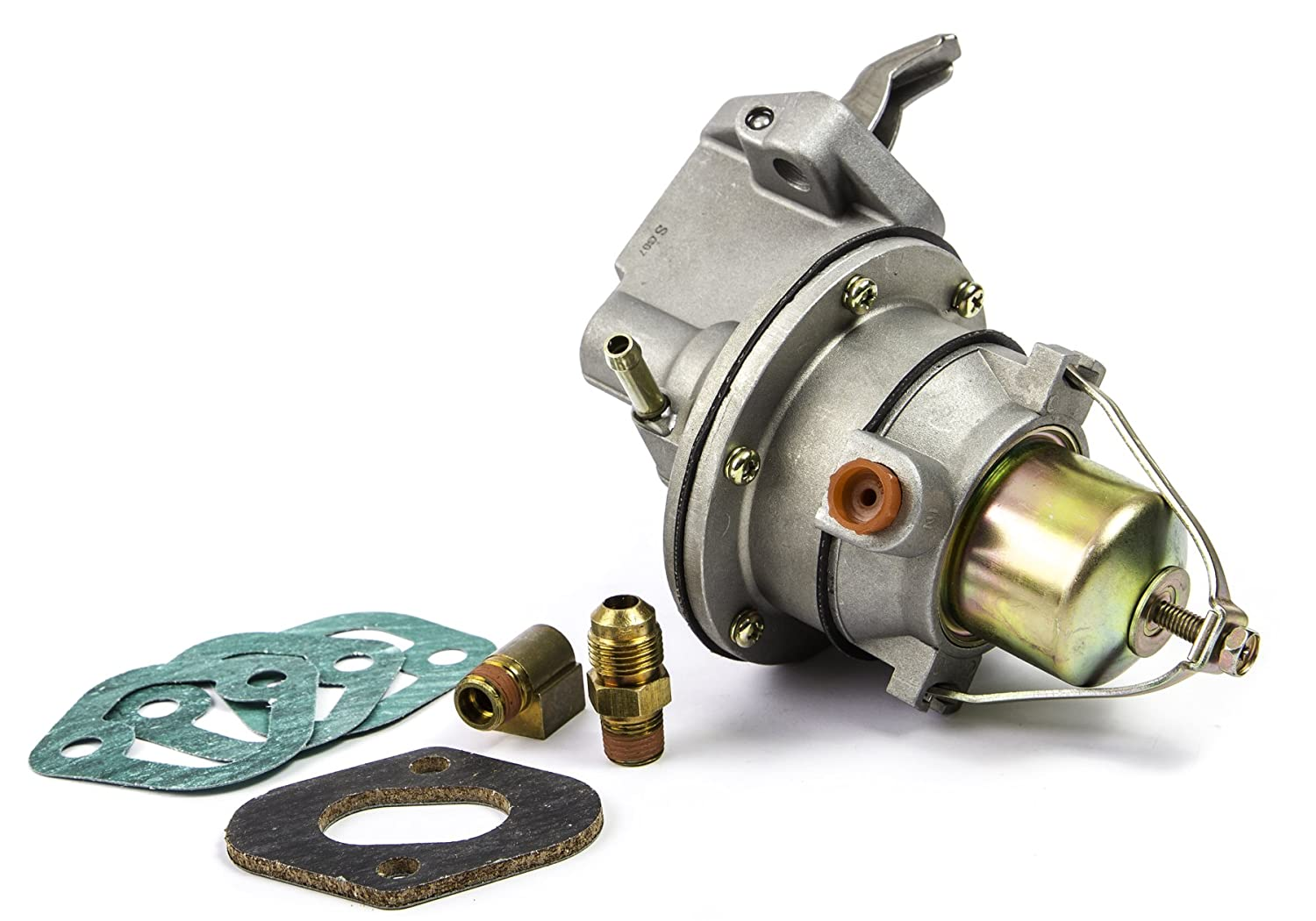 Sierra 18 7282 Fuel Pump 4 Cylinder 25l 30l 37 73 Chevy Truck Wiring Accessories 37l Engines Automotive