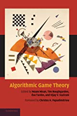 Algorithmic Game Theory Hardcover